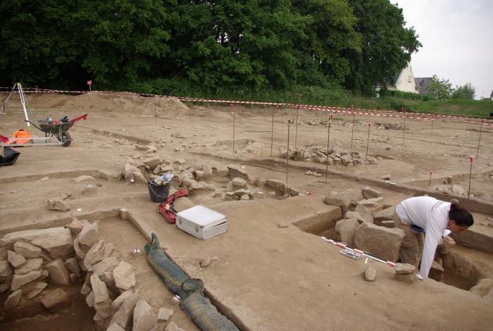 Mise à jour par l'INRAP d'une nécropole de l'âge du bronze