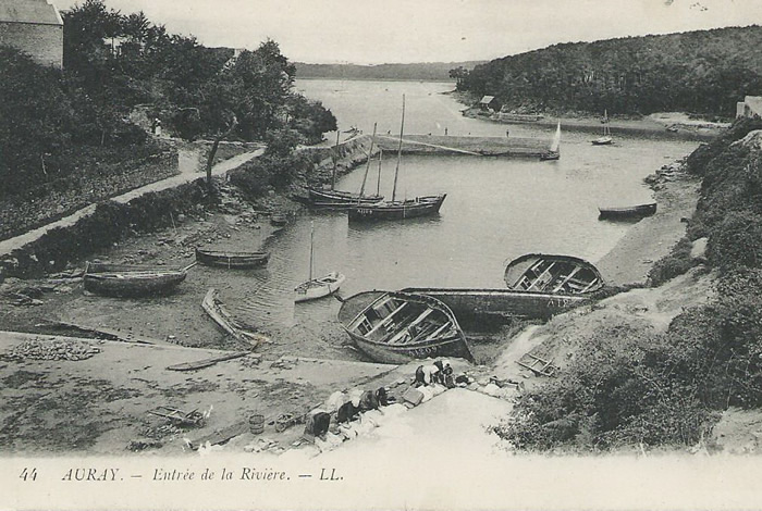 Le forban avant 1916 les quais ne sont pas encore aménagés
