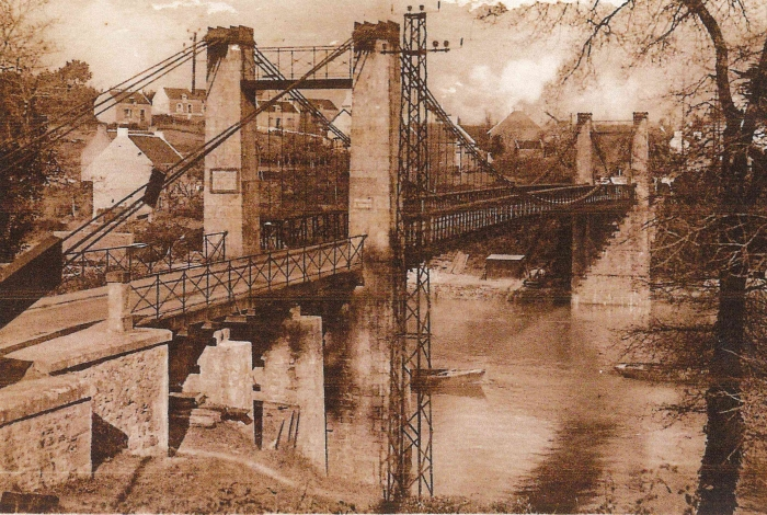 Le vieux pont après les travaux de 1925