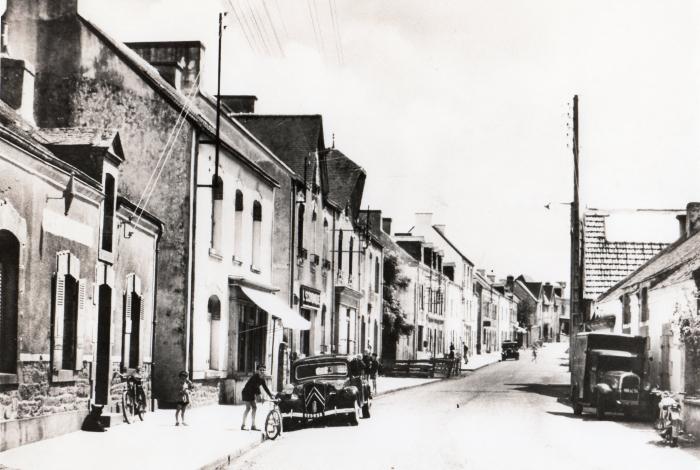 Rue Pasteur entre 1955 et 1960