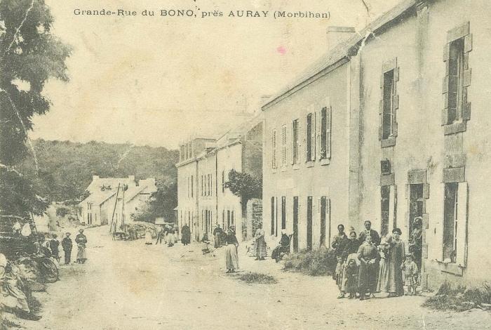 Rue Pasteur vers 1900