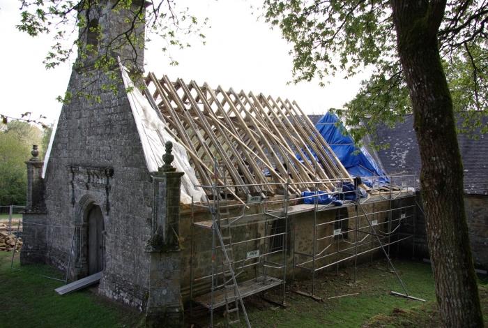 Restauration de la Chapelle de Bequrel