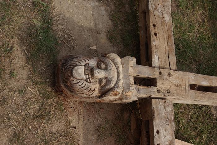 Sculpture Chapelle de Bequerel