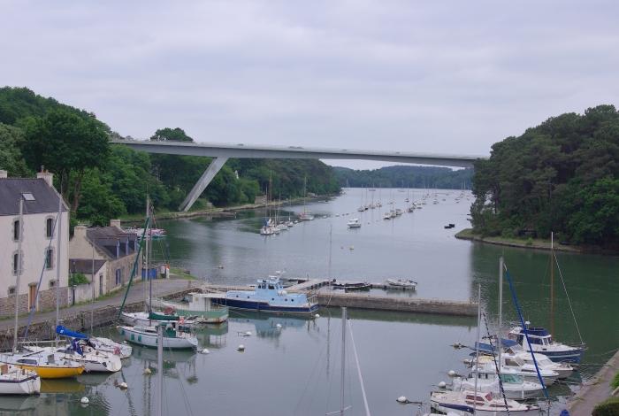 Rivière du Bono et Pont Joseph Le Brix