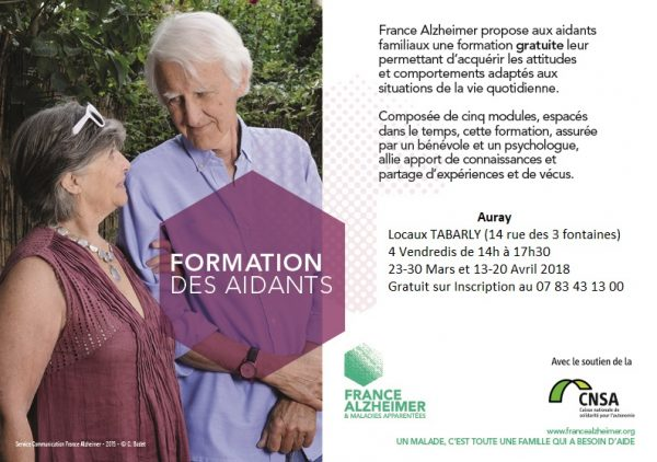 Formation des aidants France Alzheimer