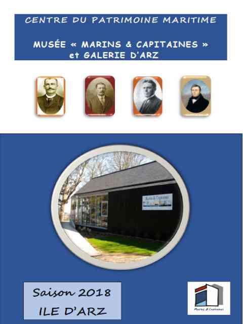 Programme du musée et de la galerie de l'Ile d'Arz 2018