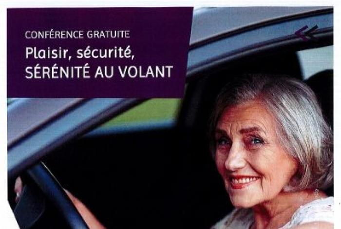 Conférence gratuite Plaisir, sécurité, sérénité au volant