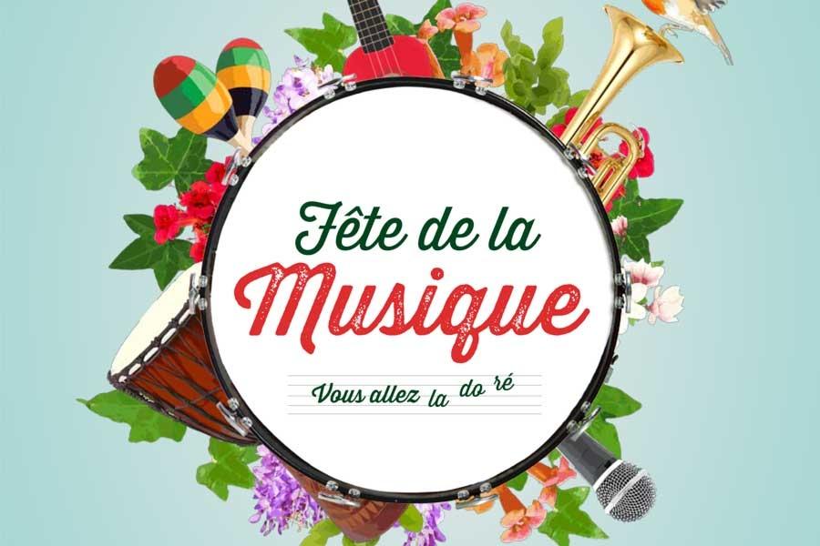 F te de la musique et la longue route 2018 mairie du bono - Fete de la musique salon de provence ...
