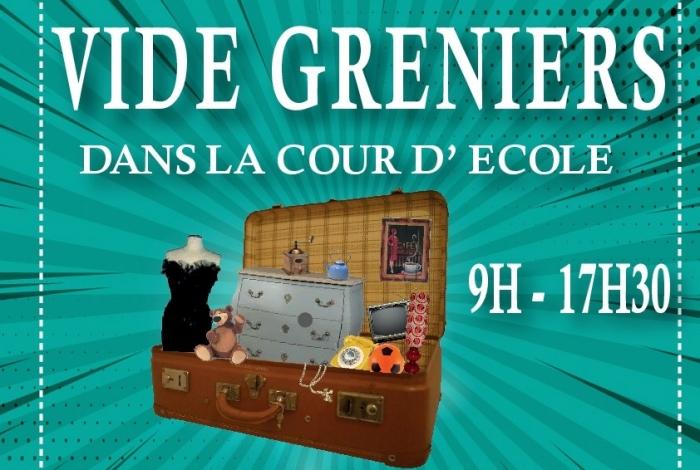 Vide greniers organisé par l'Amicale de l'Ecole Jean Louis Etienne