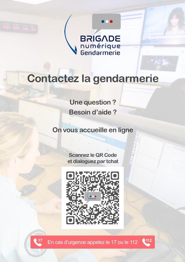 Brigade numérique Gendarmerie