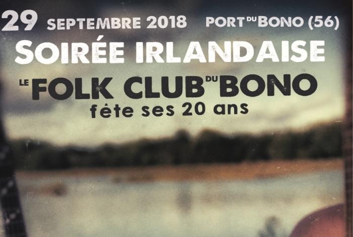 Le Folk Club du Bono fête ses 20 ans…!