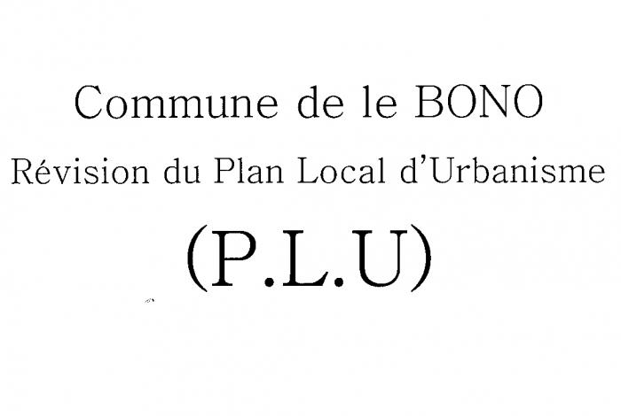 Projet du Plan Local d'Urbanisme