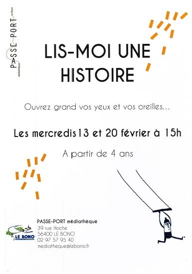Médiathèque Passe-Port – Lis-moi une histoire