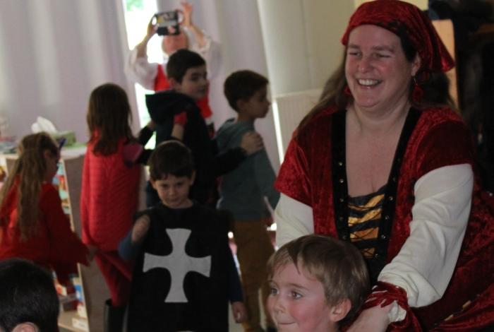 Carnaval à l'ALSH avec le Club de l'Amitié
