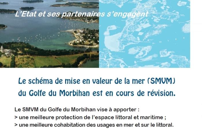 Révision du schéma de mise en valeur de la mer du Golfe du Morbihan