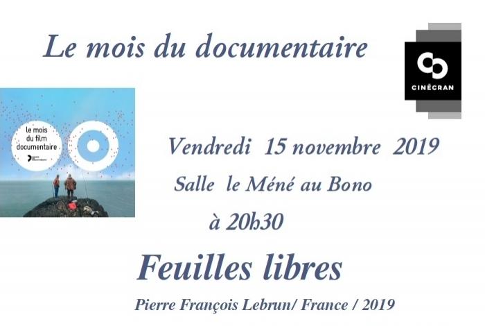 Cine-club La Luciole Mois du documentaire
