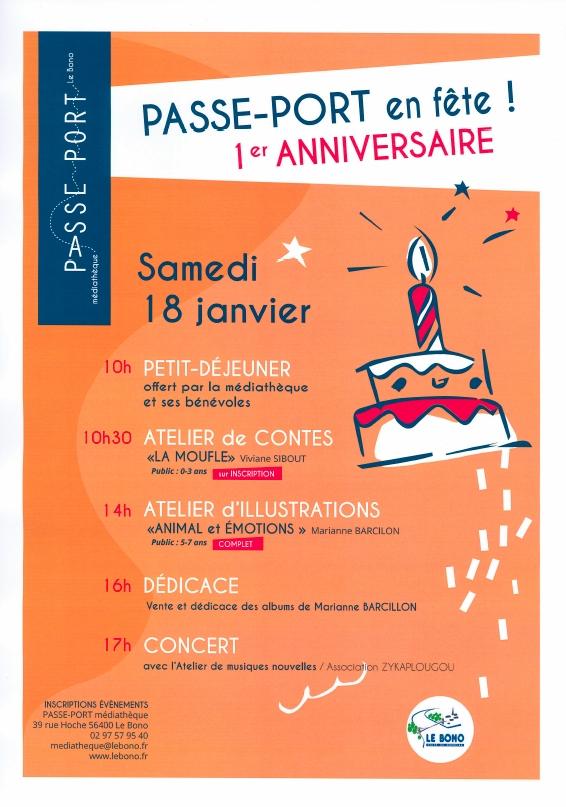 Passe-Port vous invite à fêter son 1er anniversaire