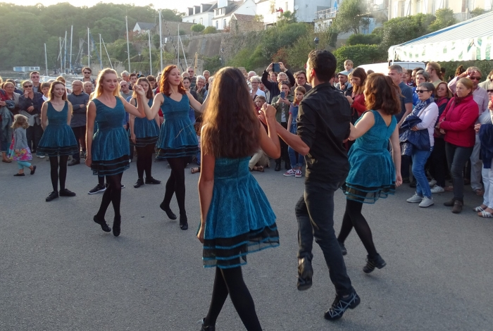 Danseuses irlandaises