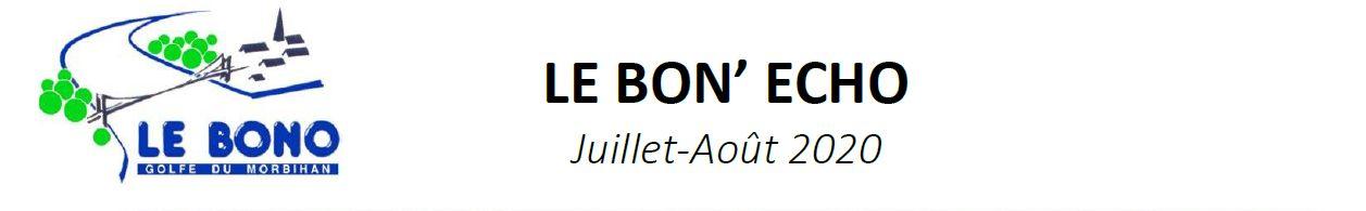 Le Bon Echo juillet-aout