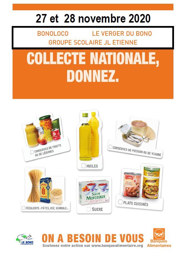 Collecte nationale de la Banque Alimentaire
