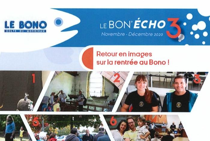 Le BON'ÉCHO 3 Novembre – Décembre 2020