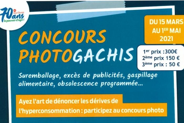 Concours PHOTOGACHIS organisé par UFC Que Choisir du Morbihan