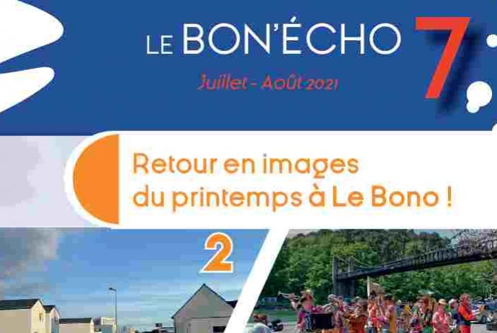 Le Bon Echo juillet aout 2021
